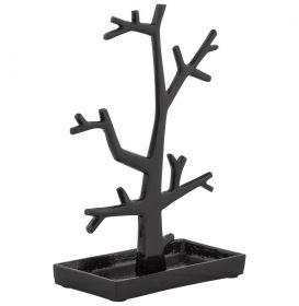 držák na šperky TREE BLACK