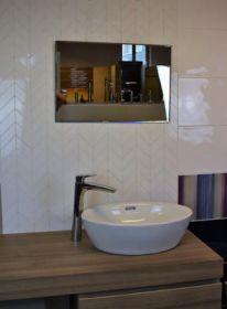 zrcadlo GLOSSY 60/40-A s fazetou