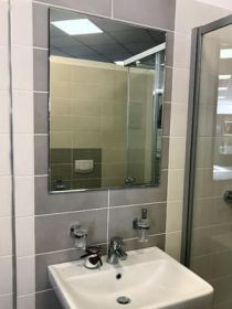 zrcadlo GLOSSY 80/60-A s fazetou
