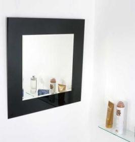 zrcadlo CUBE BLACK 60/60