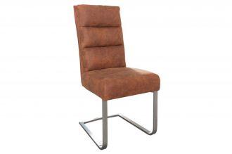 židle COMFORT VINTAGE BROWN