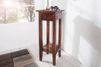odkládací stolek HEMINGWAY II masiv mahagon