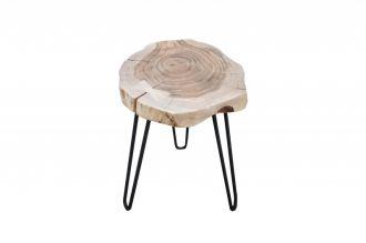 Odkládací stolek GOA 40 CM masiv akácie