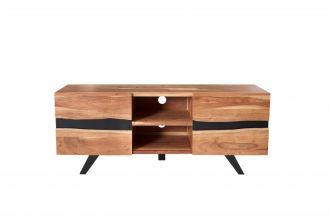 Televizní stolek AMAZONAS 160 CM masiv akácie