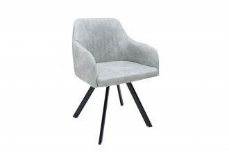 židle LUCCA LIGHT GREY