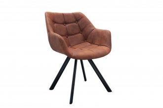 Jídelní židle DUTCH Courturier antik BROWN
