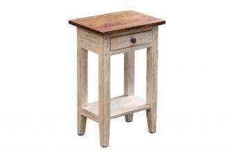Odkládací stolek LA FLEUR masiv mahagon