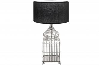 Stolní lampa CAGE SILVER