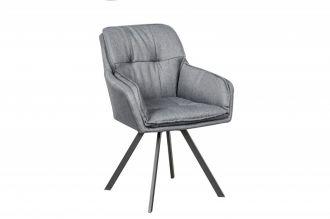 Jídelní židle LOUNGER šedá