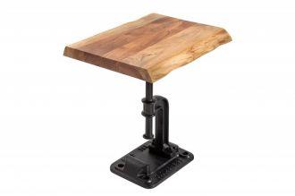 Odkládací stolek FACTORY 43 CM NATURE masiv akácie