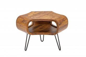 Konferenční-odkládací stolek ORGANIC 60 CM masiv sheesham