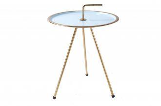 Odkládací stolek SIMPLY CLEVER 42 CM tyrkys