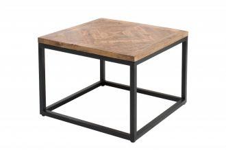 Konferenční-odkládací stolek INFINITY 60 CM NATURE masiv mango
