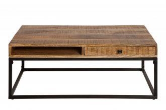 Konferenční stolek IRON CRAFT II 100 CM masiv mango