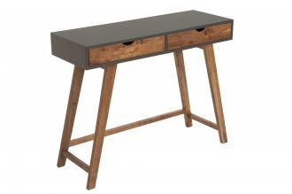 Konzolový stolek SCANDINAVIA 100 CM GREY NATURE