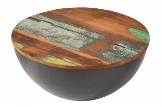 Konferenční stolek JAKARTA 70 CM GREY masiv recykl