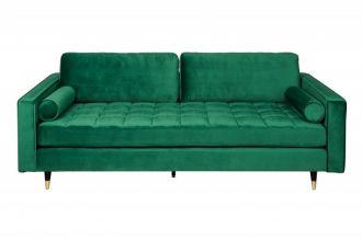 Luxusní pohovka COZY VELVET SMARAGD GREEN 225 CM