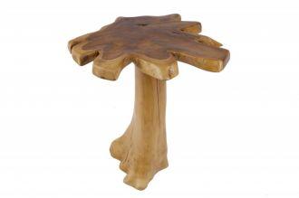 Odkládací stolek WILD ROOT 60CM, masiv teak nature