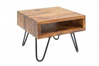 Univerzální stolek SCORPION 45 CM masiv sheesham