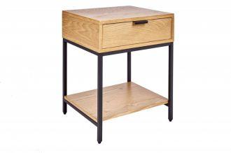 Odkládací stolek ELEMENTS 40 CM dubová dýha