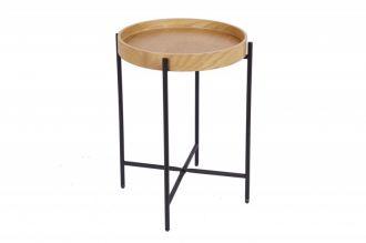 Odkládací stolek ELEMENTS 43 CM dubová dýha