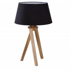 Stolní lampa TRIPOD 64 CM černá