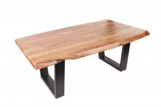 Konferenční stolek MAMMUT BLACK 110 CM masiv akácie