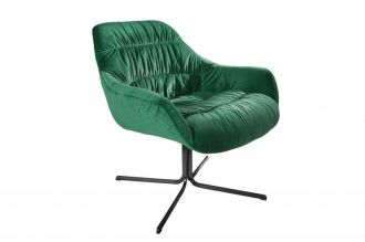 Židlo-křeslo BIG DUTCH SMARAGD GREEN samet