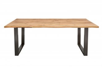 Jídelní stůl LIVING EDGE 180 CM masiv divoký dub