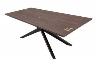 Jídelní stůl GALAXIE ART 200 CM masiv akácie, II. jakost