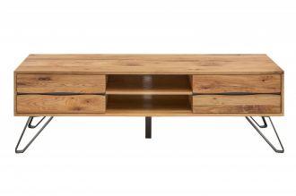 Televizní stolek LIVING EDGE 160 CM masiv divoký dub