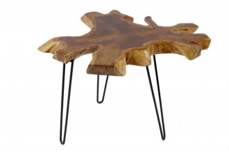 Odkládací stolek WILD 60CM, masiv teak nature