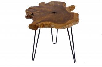 Odkládací stolek WILD 55CM, masiv teak nature