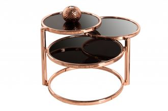 odkládací stolek ART DECO 3COPPER
