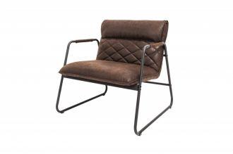 Židlo-křeslo MUSTANG antik tmavě hnědá