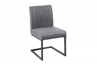 Židle BIG ASTON vintage GREY II