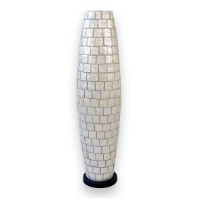 Stojací lampa CAPIZ APOLO SQUARE 100 CM WHITE