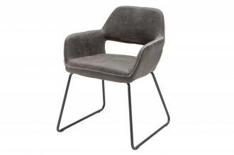 Jídelní židle MUSTANG antik grey