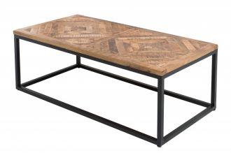 Konferenční stolek INFINITY 100 CM NATURE masiv mango