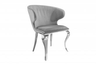 Židle MODERN BAROCCO SAMT GREY