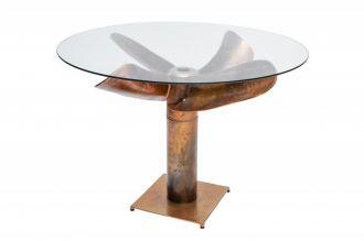 Jídelní stůl OCEAN 105 CM měděný