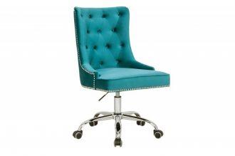 Pracovní židle VICTORIAN tyrkysová