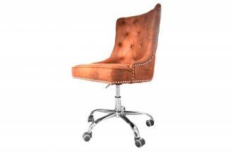 Pracovní židle VICTORIAN světle hnědá