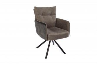 Židlo-křeslo BIG GEORGE zelené otočné