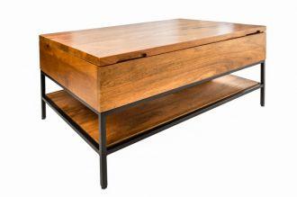 Konferenční stolek FACTORY 80 CM masiv mango