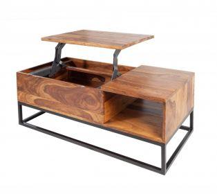 Konferenční stolek MAKASSAR 110 CM masiv sheesham