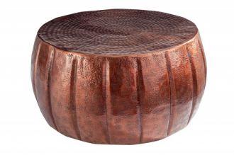 Konferenční stolek MARRAKESCH 65 CM měděný