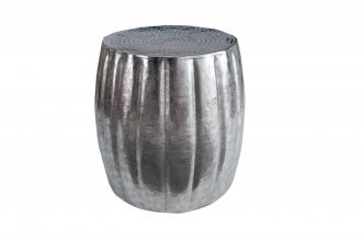 Odkládací stolek MARRAKESCH 42 CM stříbrný