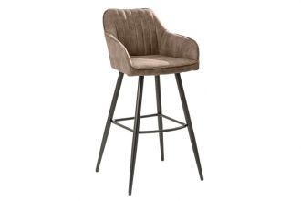 Barová židle TURIN vintage taupe