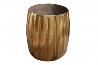 Odkládací stolek MARRAKESCH 42 CM zlatý